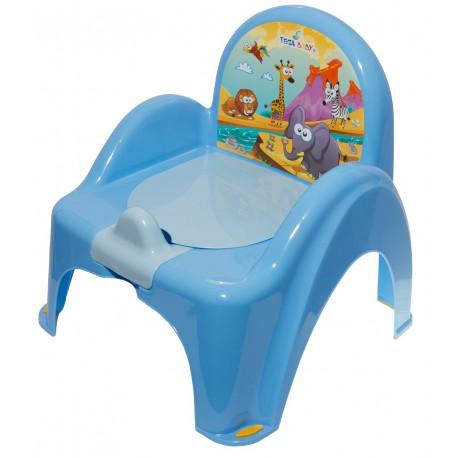 Tega Baby nocnik krzesełko Safari - niebieski