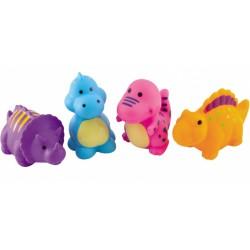 Canpol zabawki do kąpieli Dinozaury 1+