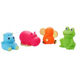 Baby Ono zabawki do kąpieli zwierzęta 3m+