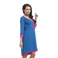 Nightwear koszula Hebe- navy blue