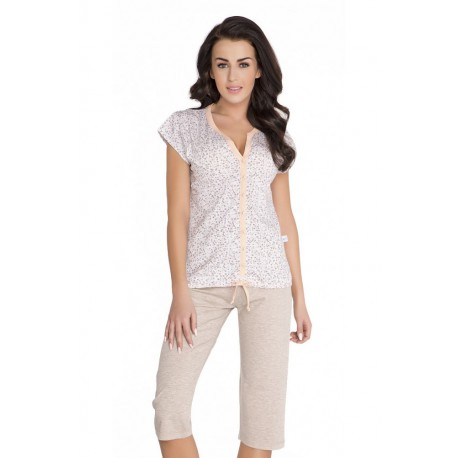Nightwear piżama - melon