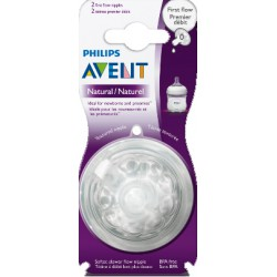 AVENT Philips smoczek Natural First flow