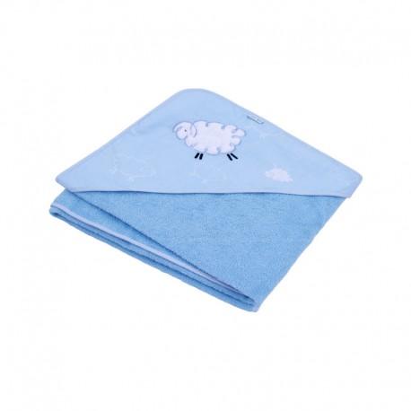 TyiMy okrycie kąpielowe Fluffy - niebieski